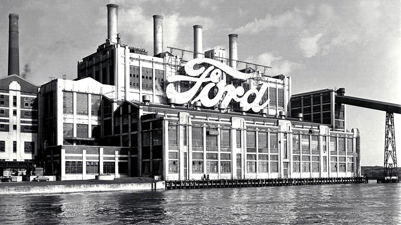 Завод Ford в Хайленд-Парк