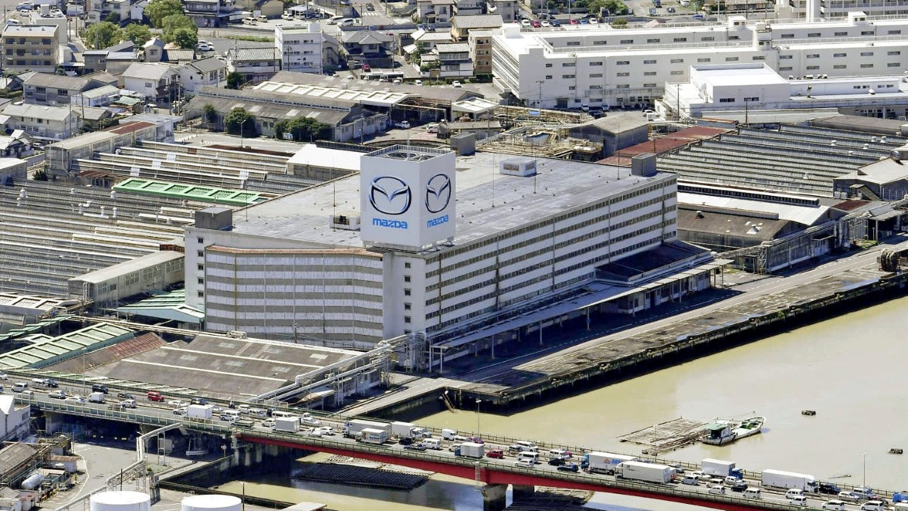 Завод Mazda в Хиросиме