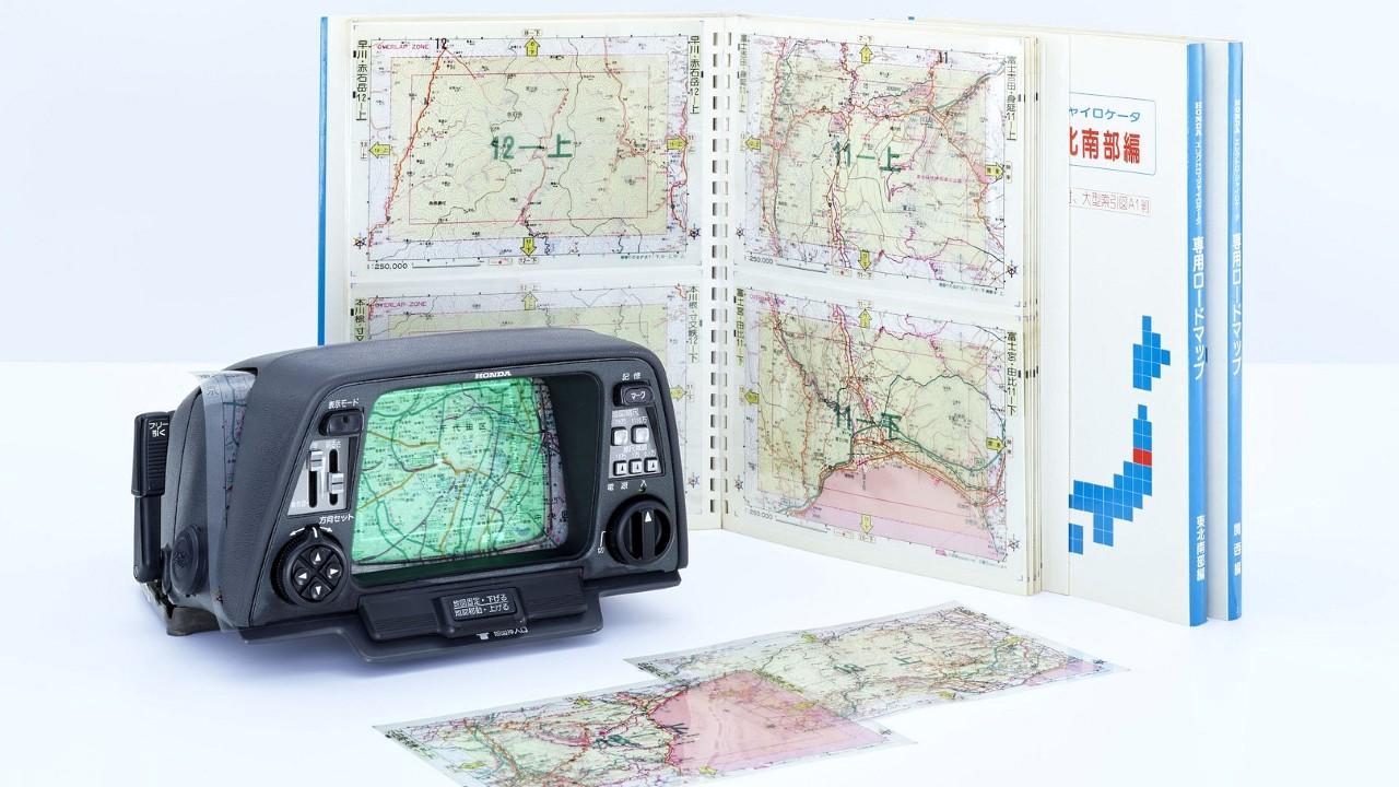 Первая в мире навигационная система Honda с картами