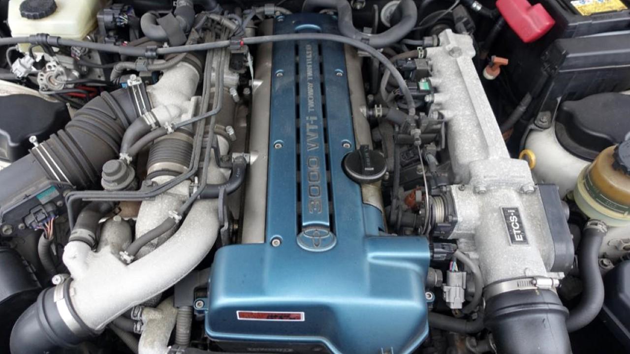 Двигатель Toyota 2JZ-GTE