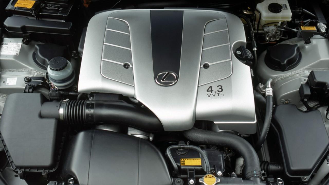 Двигатель Toyota 3UZ-FE