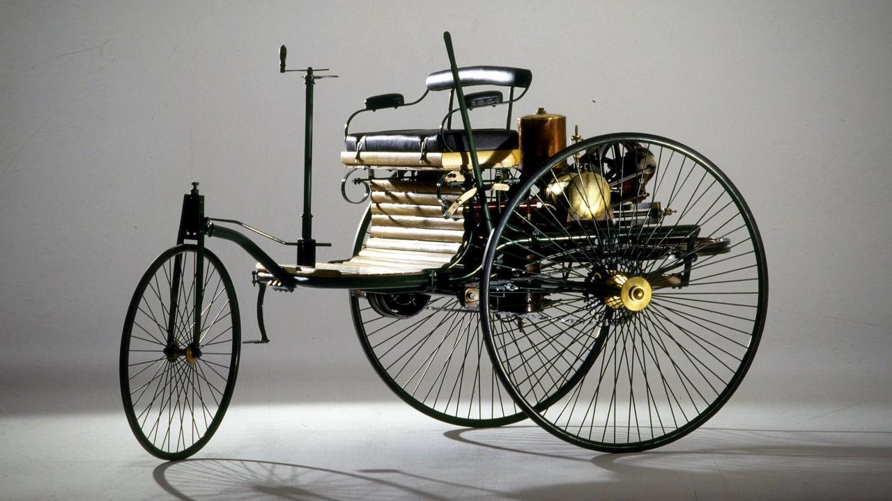 Первый в мире автомобиль Benz Patent-Motorwagen