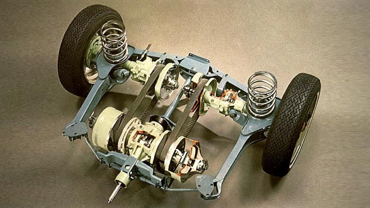 Бесступенчатая коробка переключения передач автомобиля DAF 600