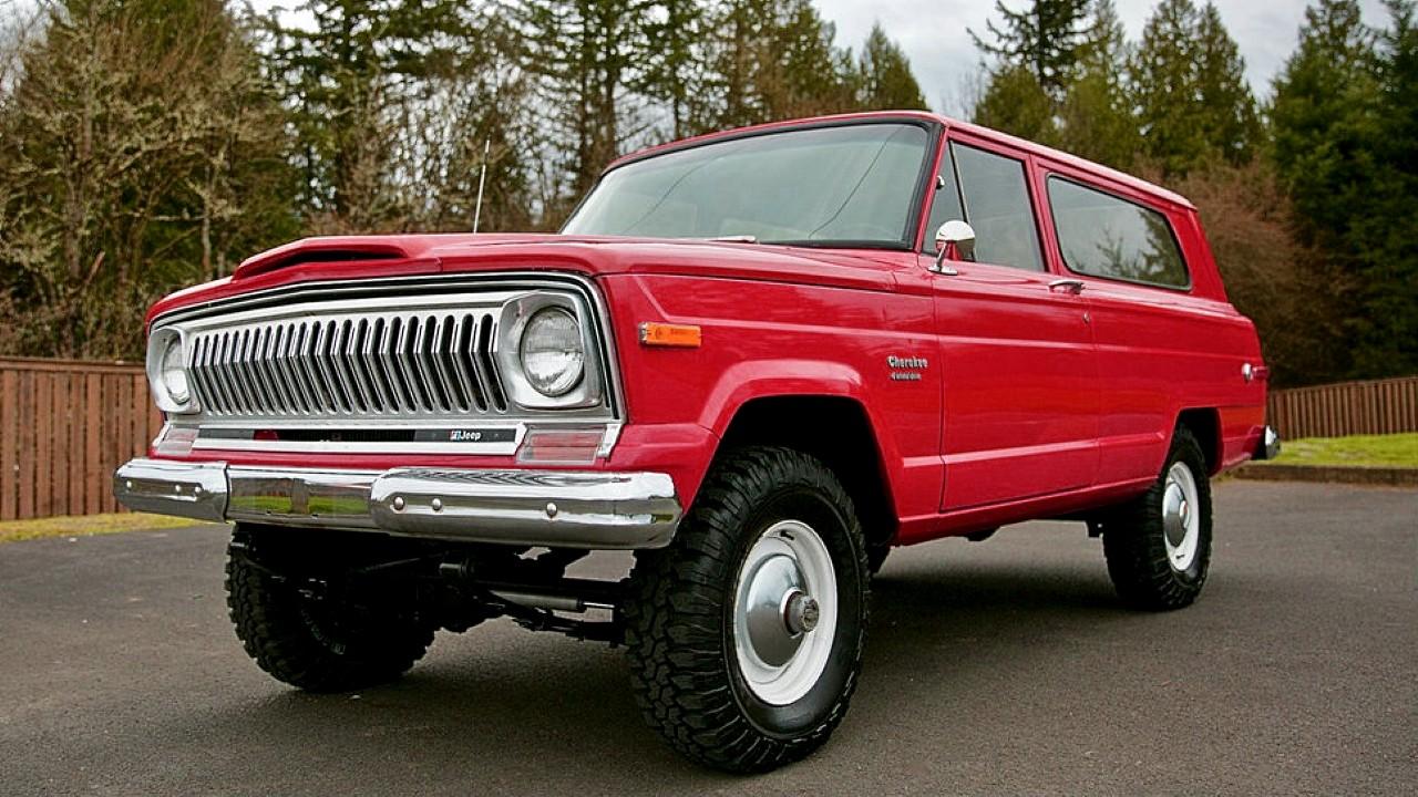 Легендарный внедорожник Jeep Cherokee