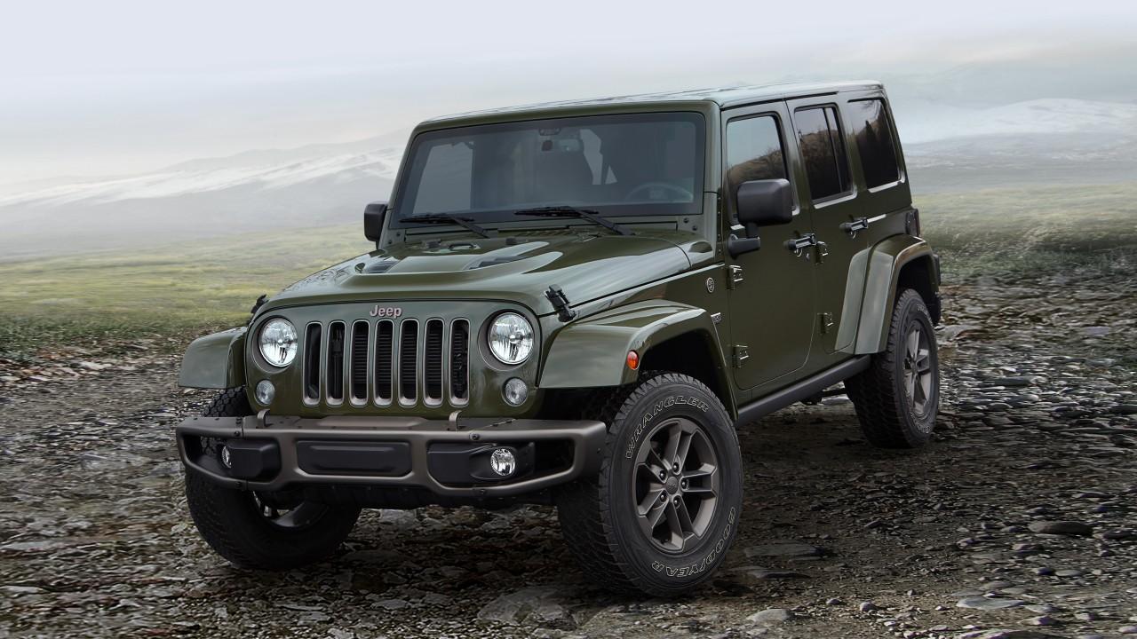 Легендарный внедорожник Jeep Wrangler