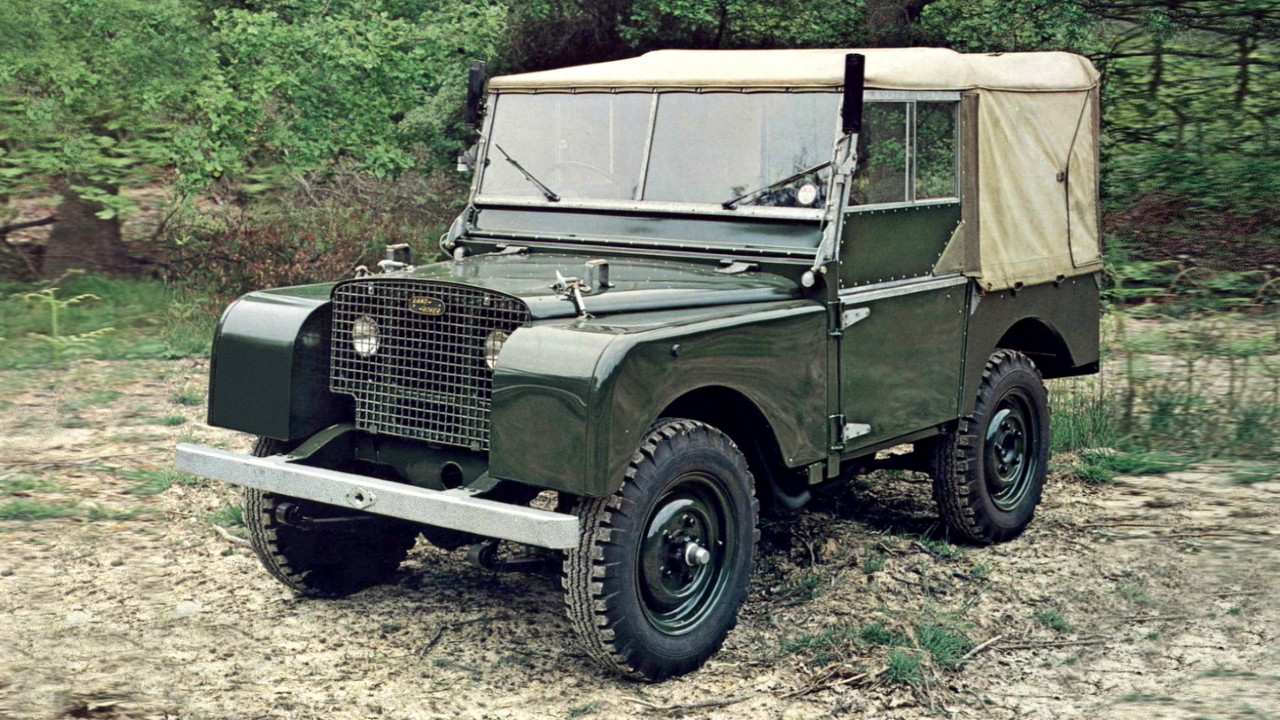 Легендарный внедорожник Land Rover Defender