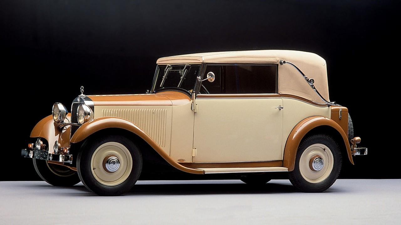 Первый в мире автомобиль с независимой подвеской Mercedes-Benz 170