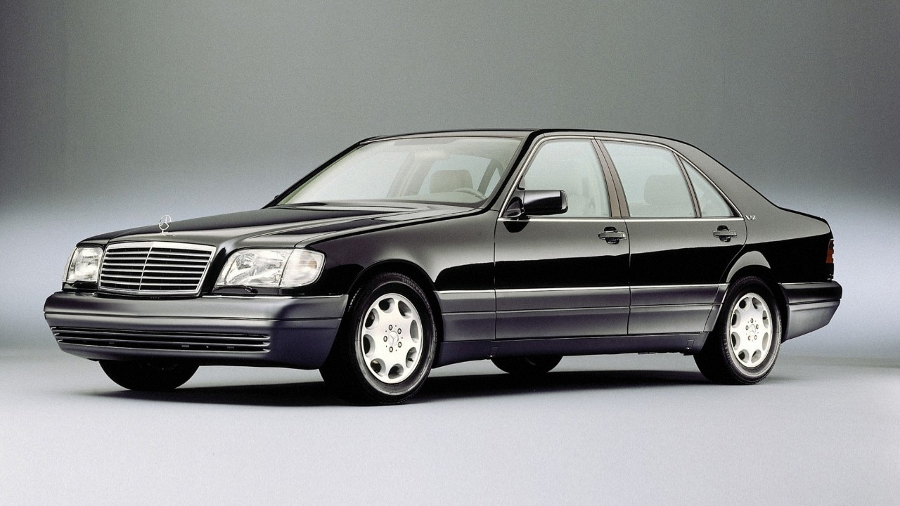 Первый в мире автомобиль с ESC Mercedes-Benz S600 (W140)