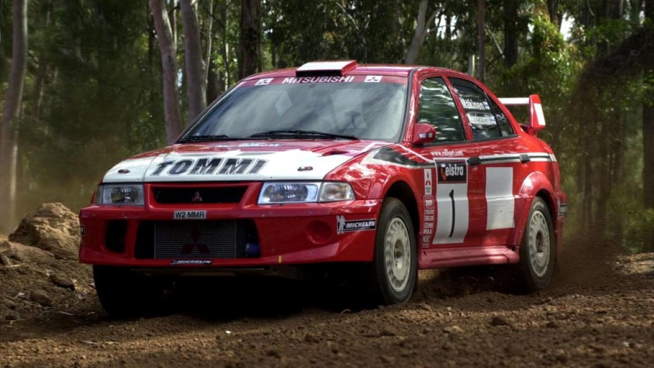 Гоночный автомобиль Mitsubishi Evolution