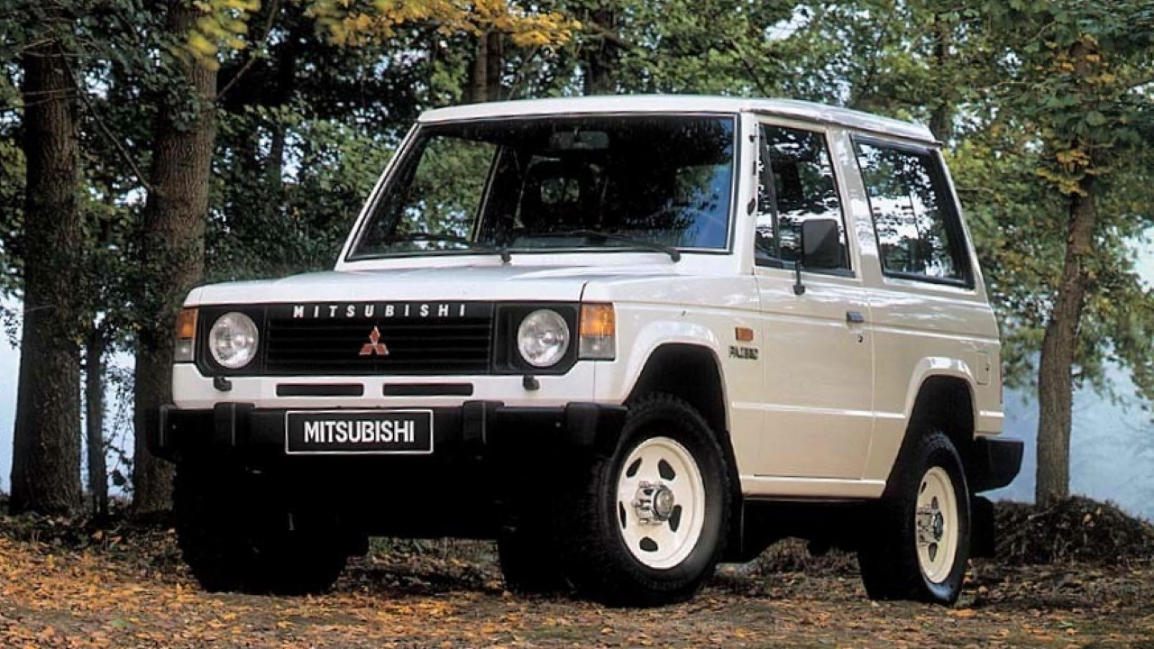 Легендарный внедорожник Mitsubishi Pajero
