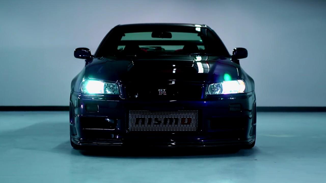 Редкий Nissan Skyline GT-R
