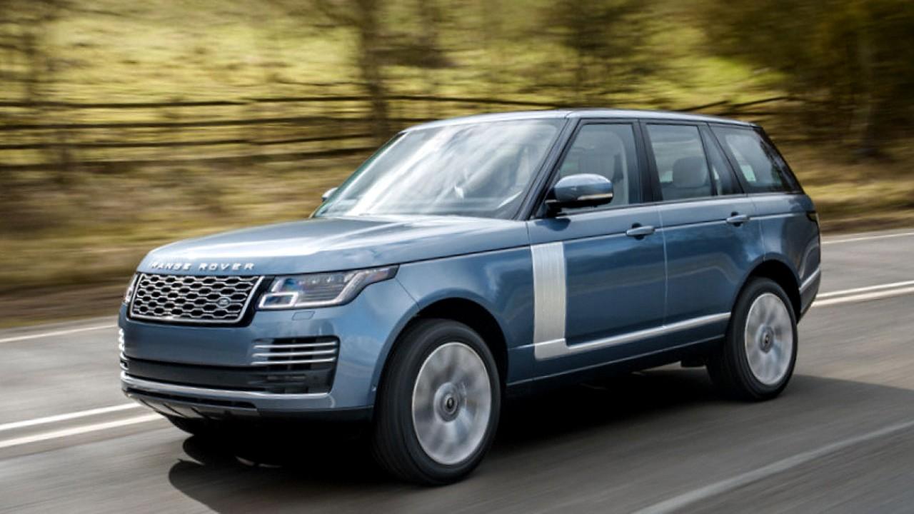 Range Rover в базовой комплектации