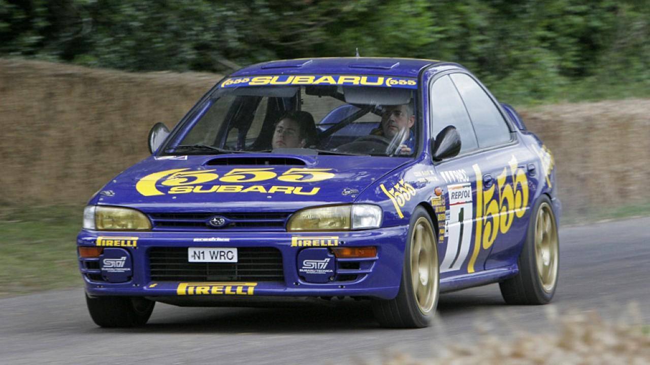Гоночный автомобиль Subaru Impreza WRX STi