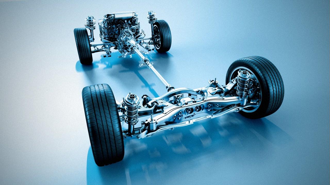 Система полного привода Subaru