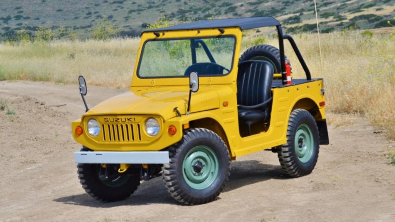Легендарный внедорожник Suzuki Jimny