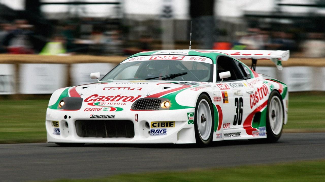 Гоночный автомобиль Tom's Toyota Supra