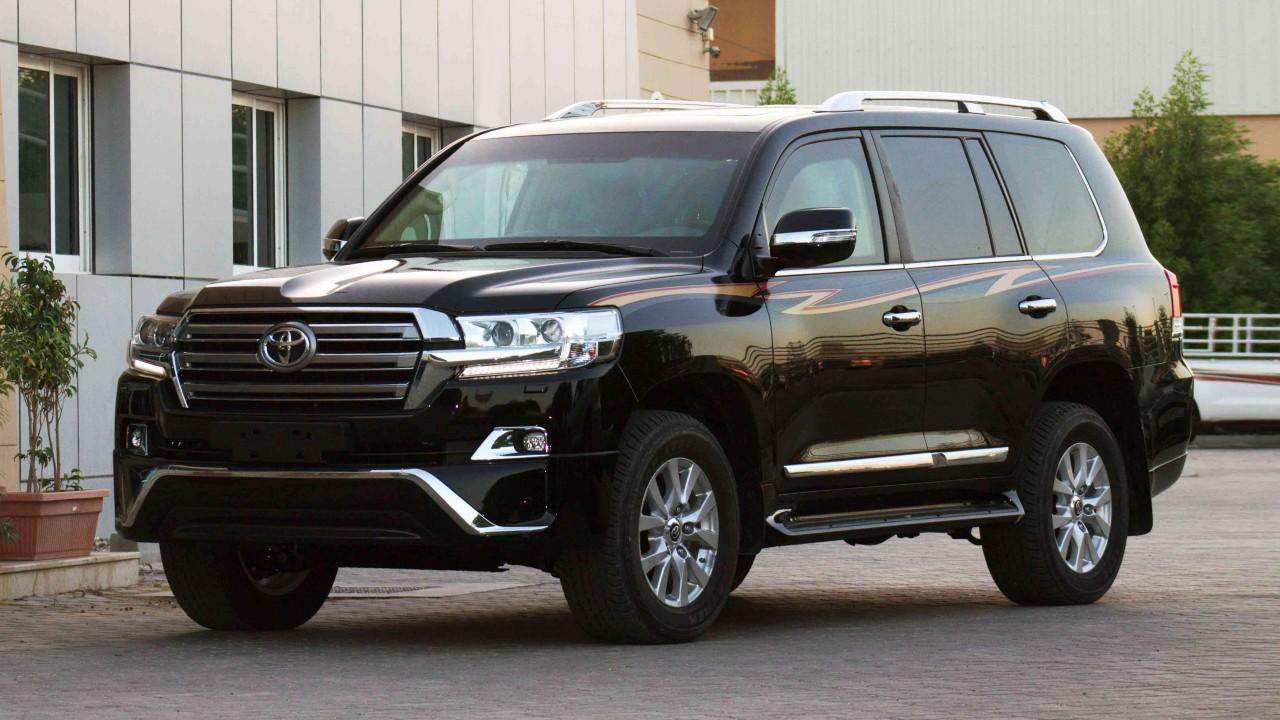 Легендарный внедорожник Toyota Land Cruiser