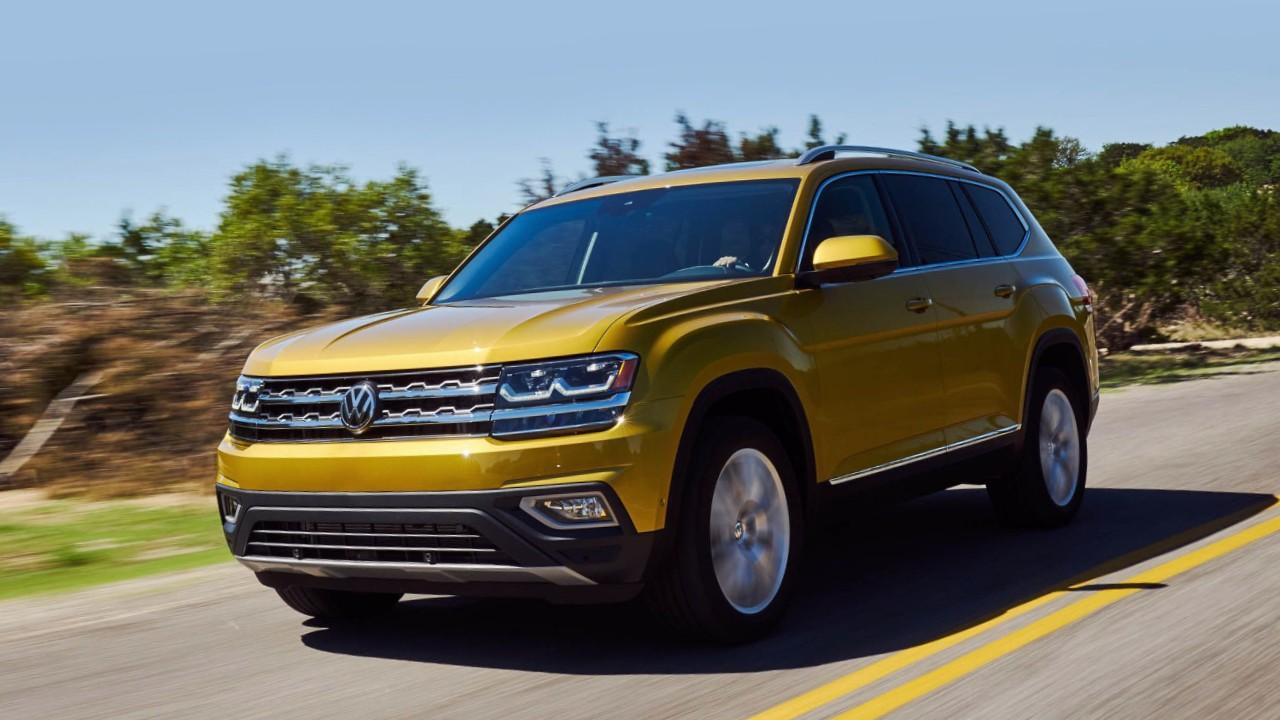 Volkswagen Atlas в базовой комплектации