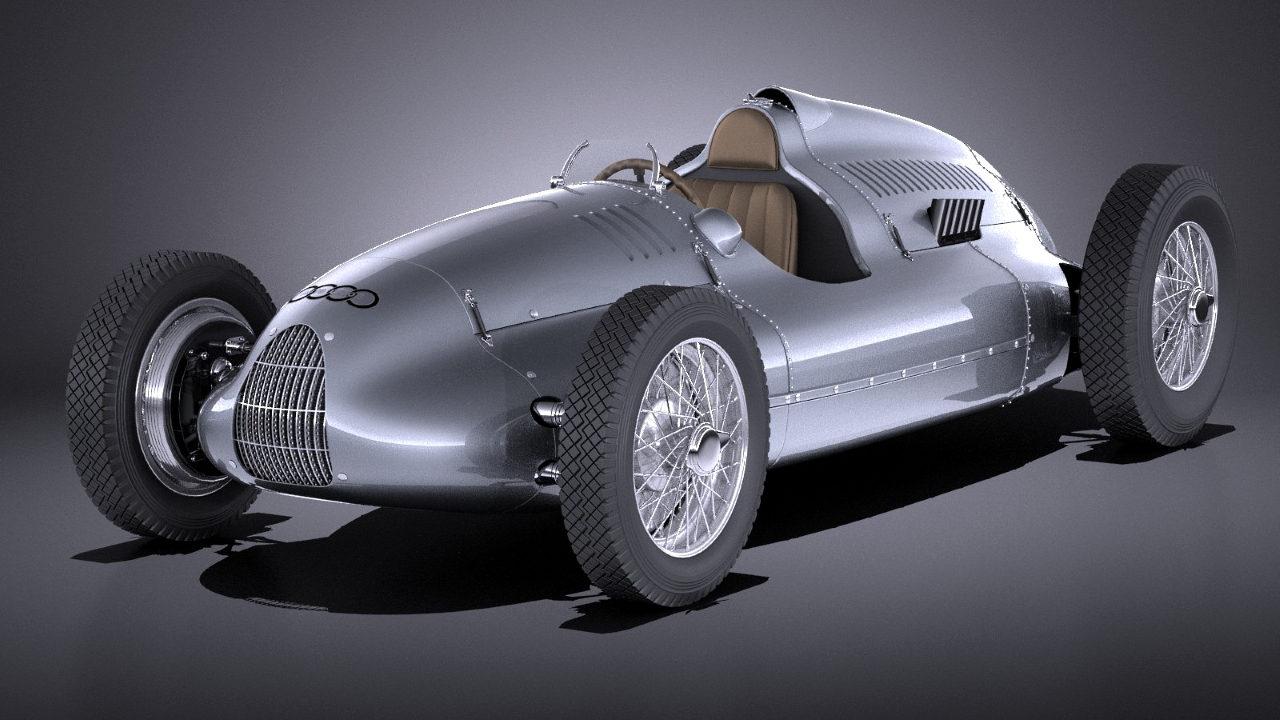 Гоночный автомобиль Auto Union Type D 1938 г.
