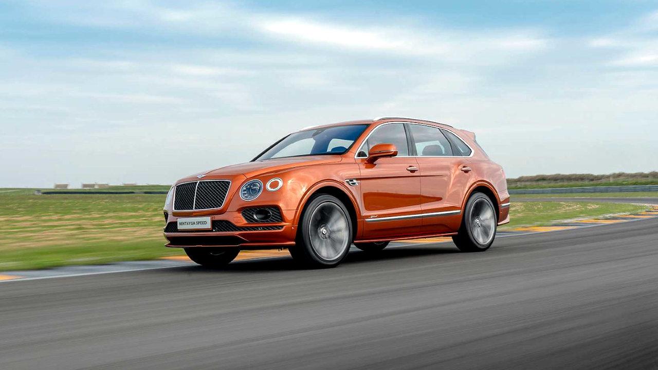 Максимальная скорость внедорожника Bentley Bentayga Speed 305 км. / ч.
