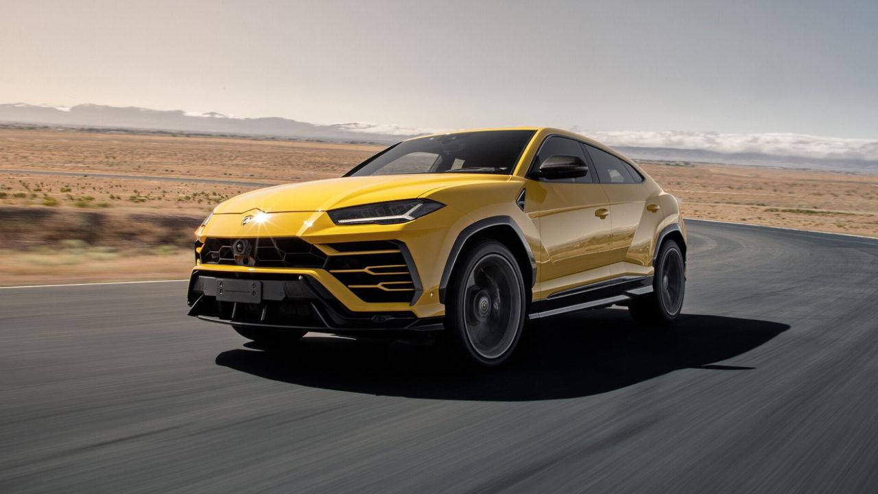 Максимальная скорость внедорожника Lamborghini Urus 305 км. / ч.
