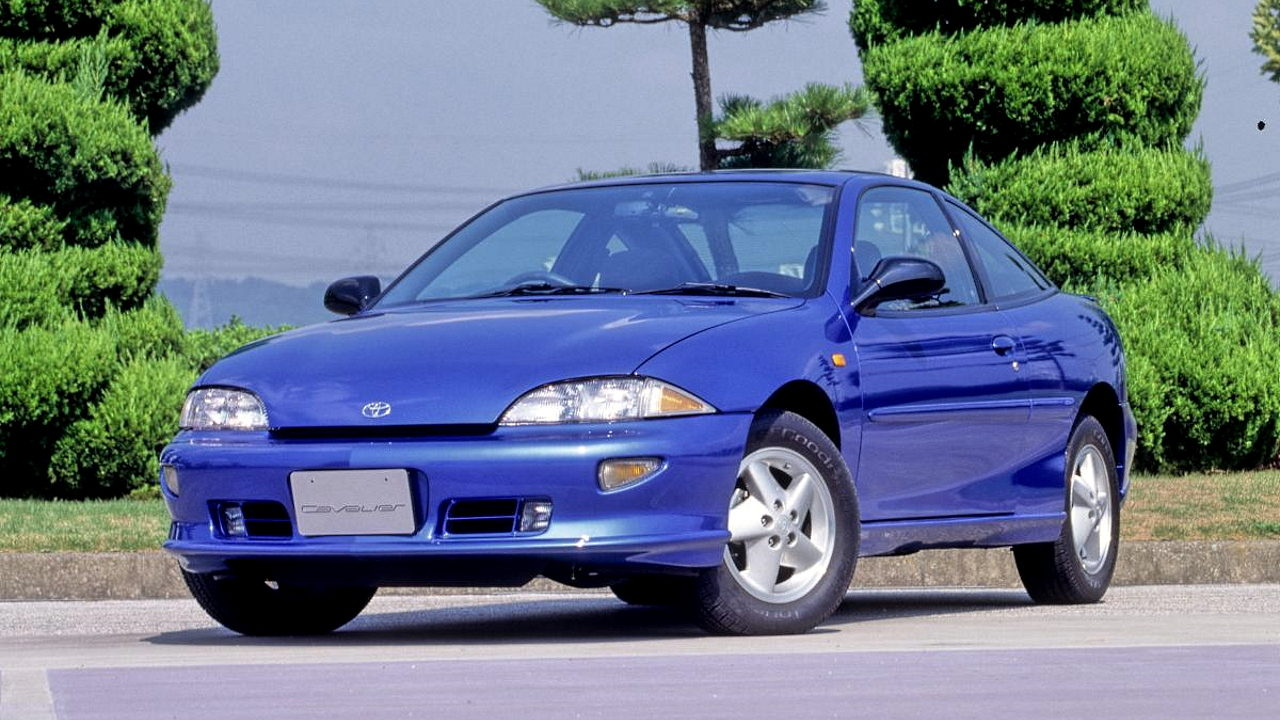 Редкий автомобиль Toyota Cavalier