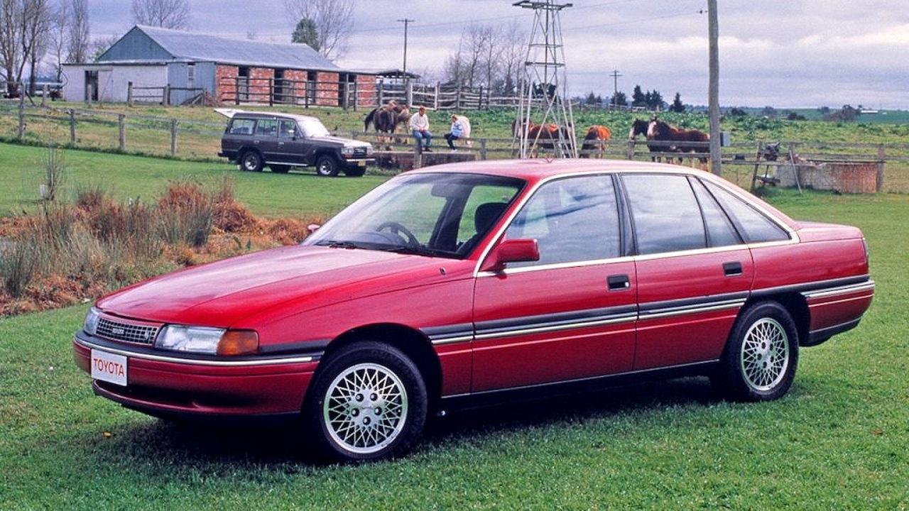 Редкий автомобиль Toyota Lexcen
