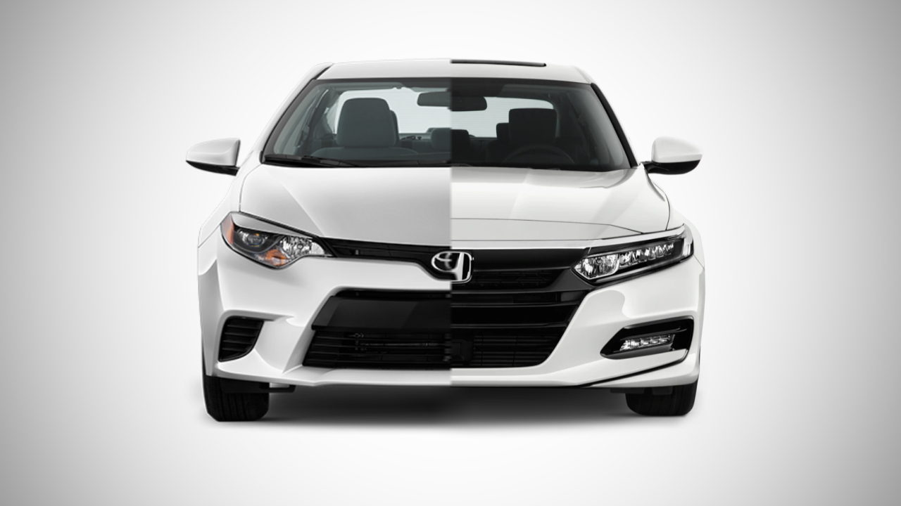 Toyota и Honda