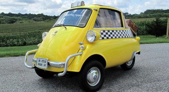 10 необычных автомобилей такси