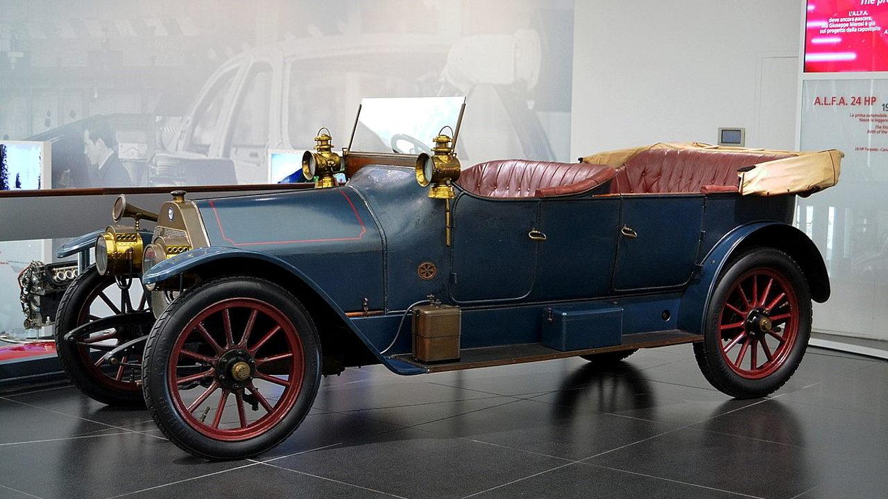 Первый автомобиль Alfa Romeo