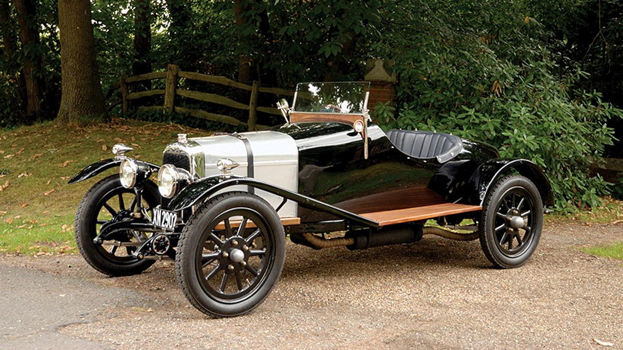 Первый автомобиль Aston Martin