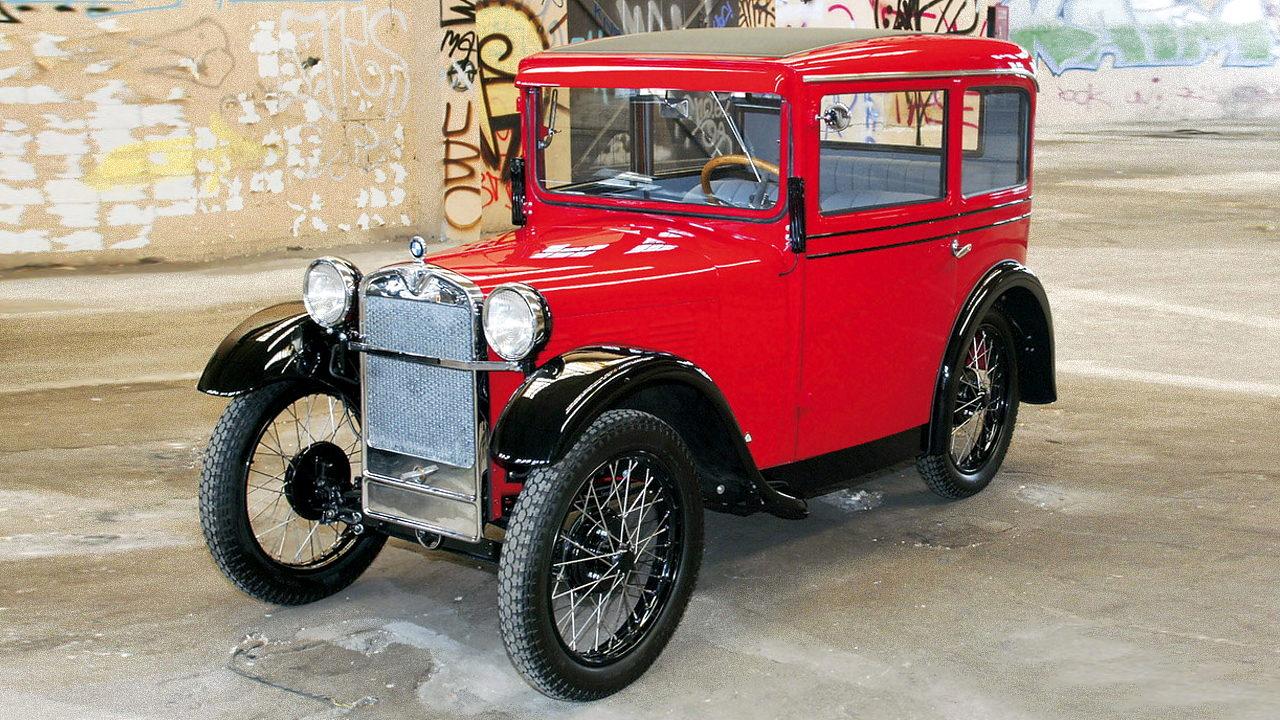 Первый автомобиль BMW