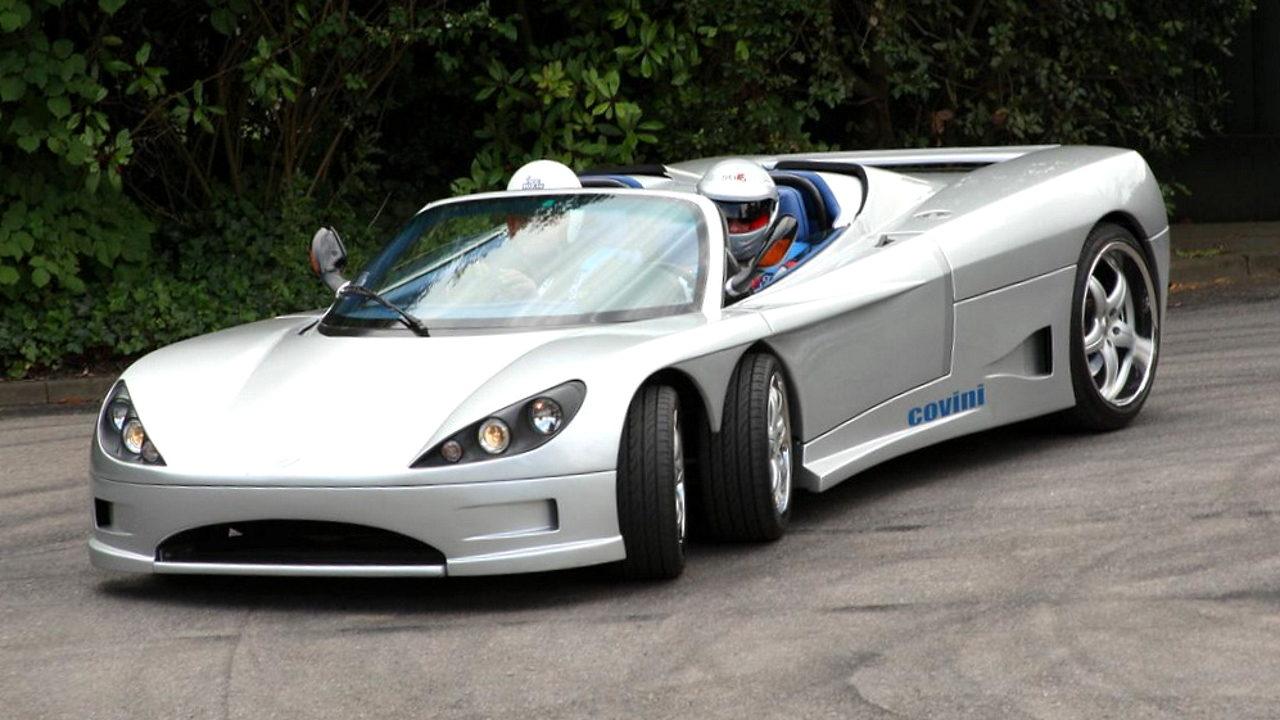 10 нелепых спортивных автомобилей