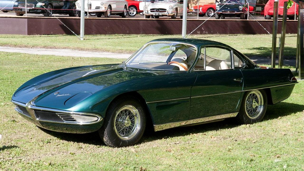 Первый автомобиль Lamborghini