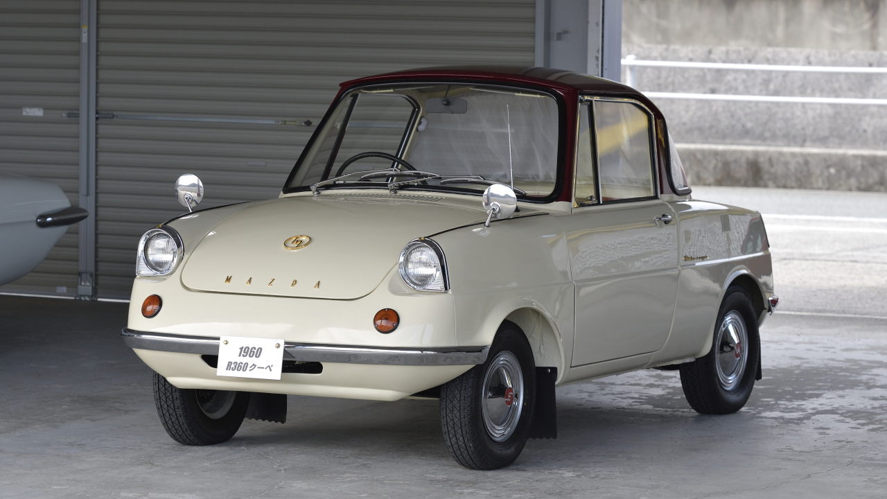 Первый автомобиль Mazda