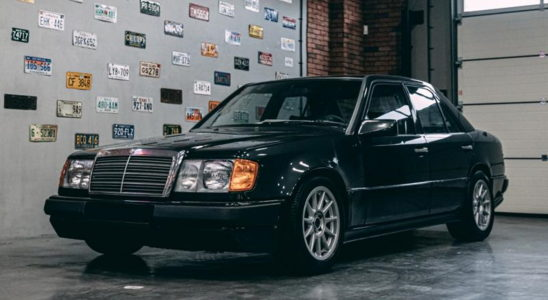 Уникальный Mercedes-Benz с двигателем BMW