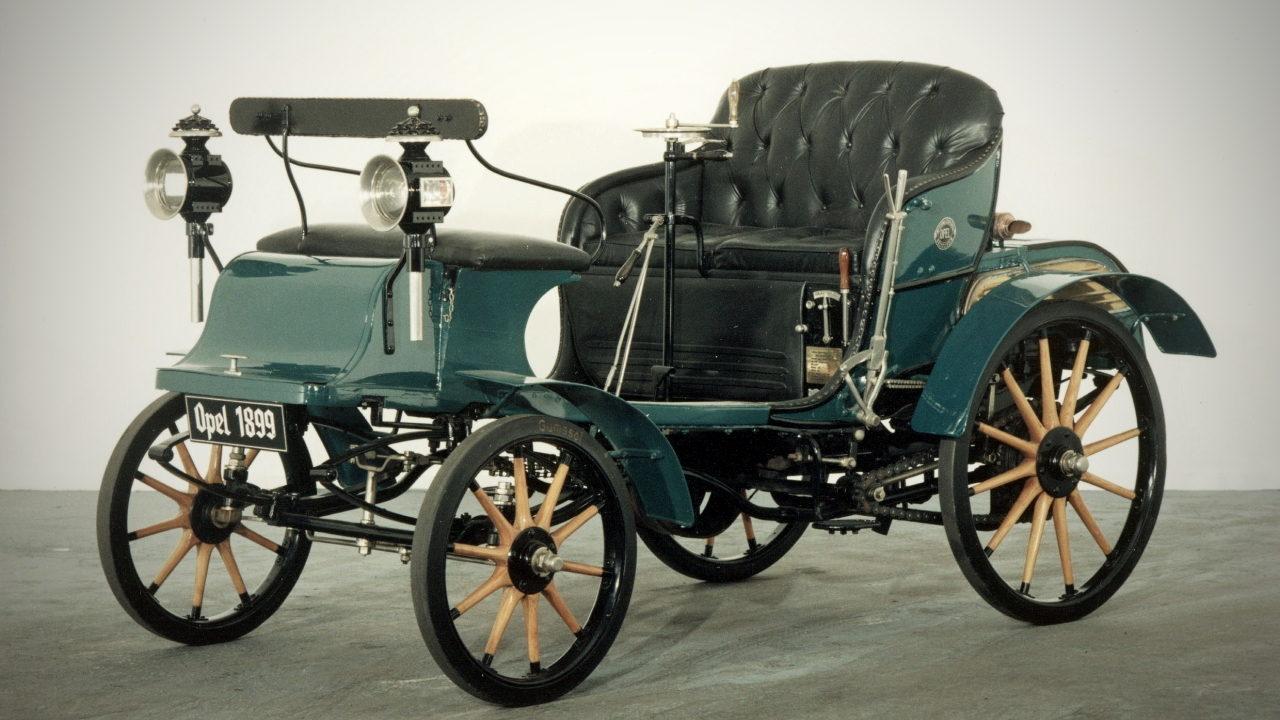 Первый автомобиль Opel