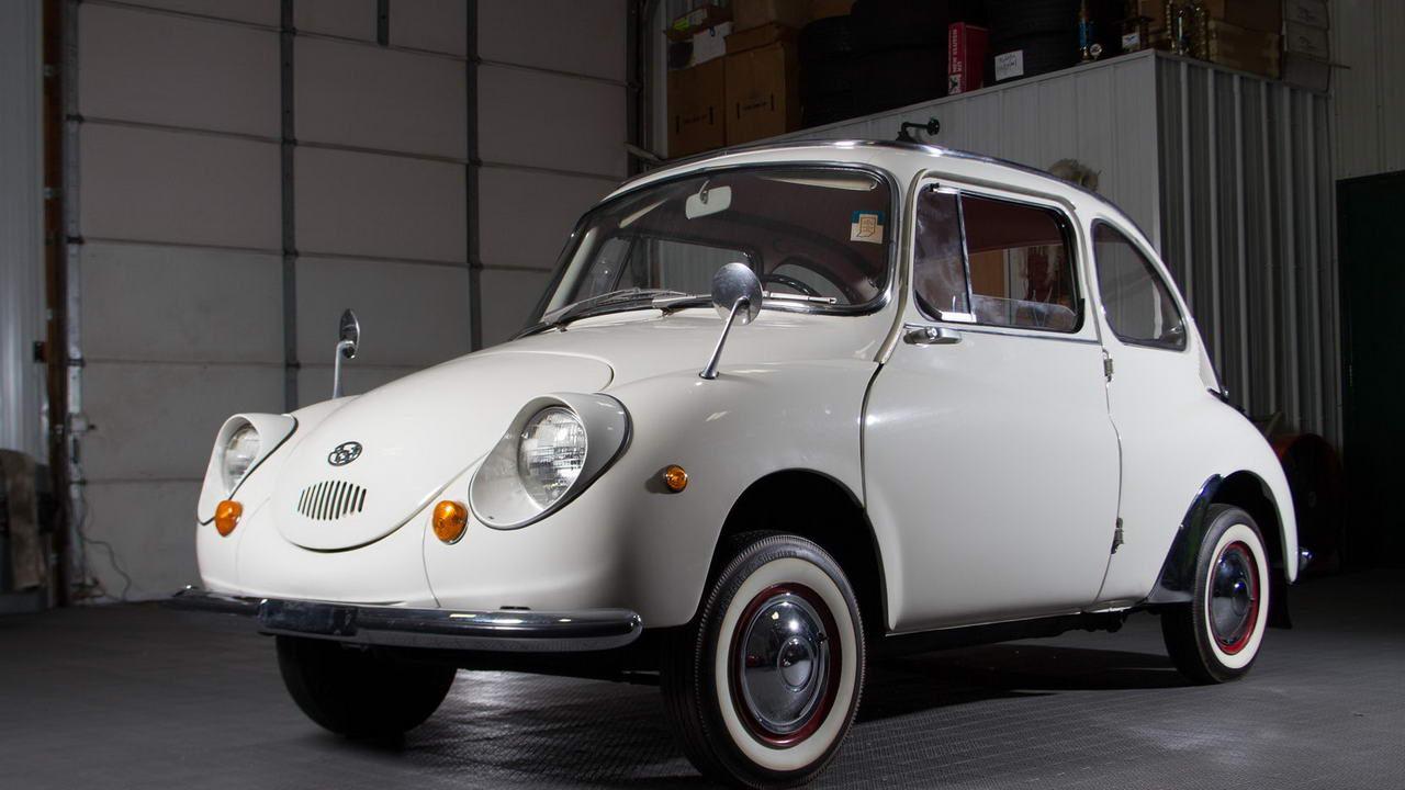 Первый автомобиль Subaru