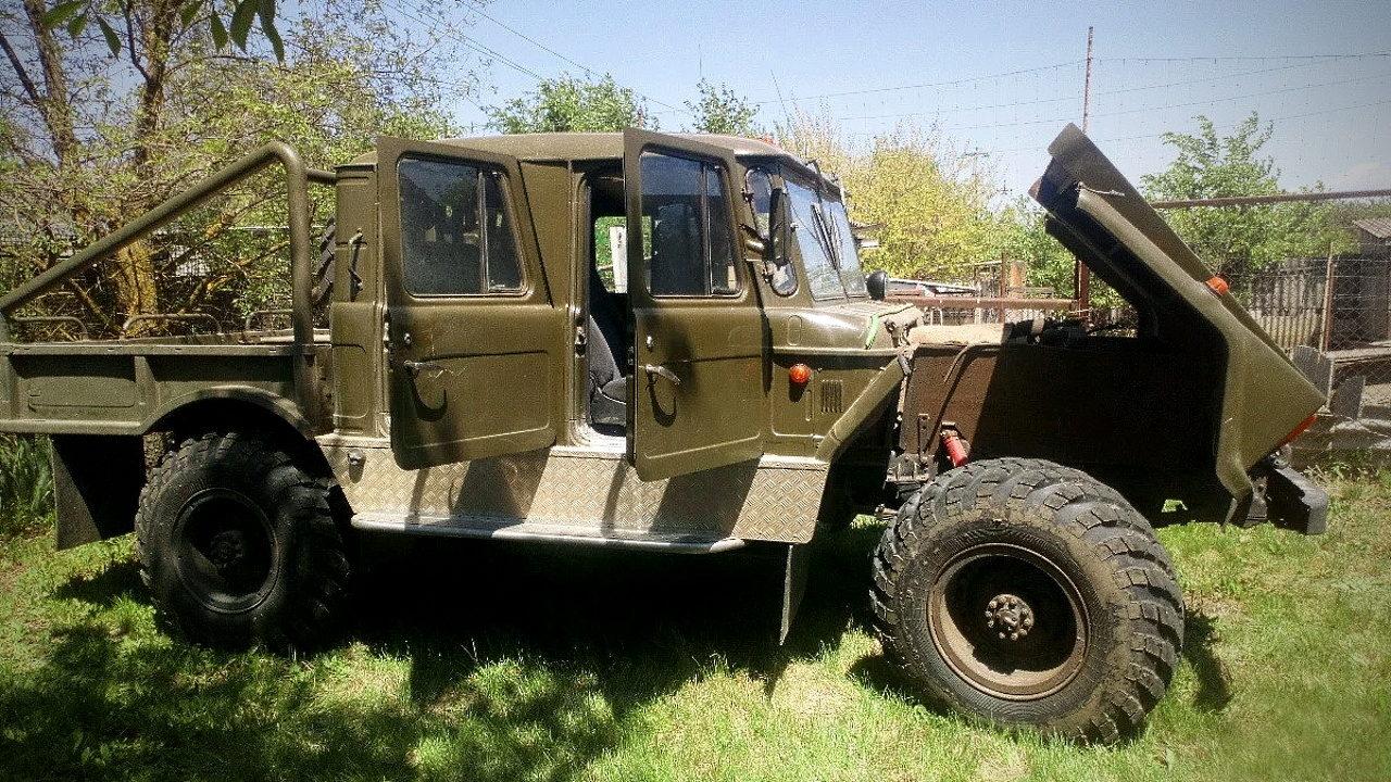 Hummer из ГАЗ-66