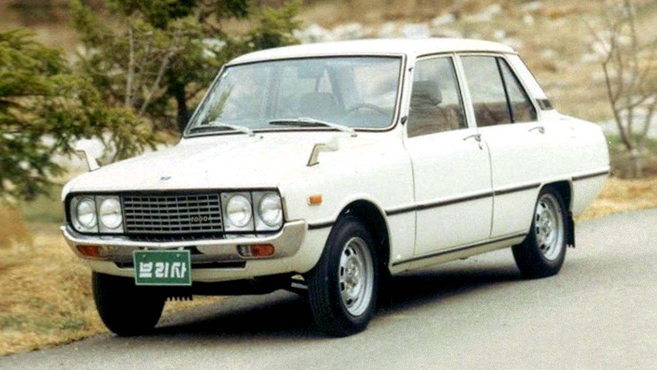 Корейский автомобиль Kia Brisa