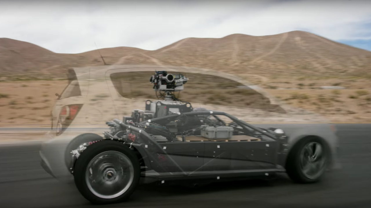 Автомобиль трансформер Mill Blackbird