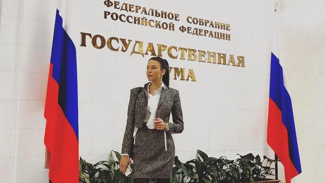 Автомобиль юной помощницы депутата Государственной Думы