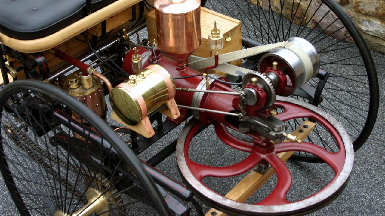 1-цилиндровый двигатель