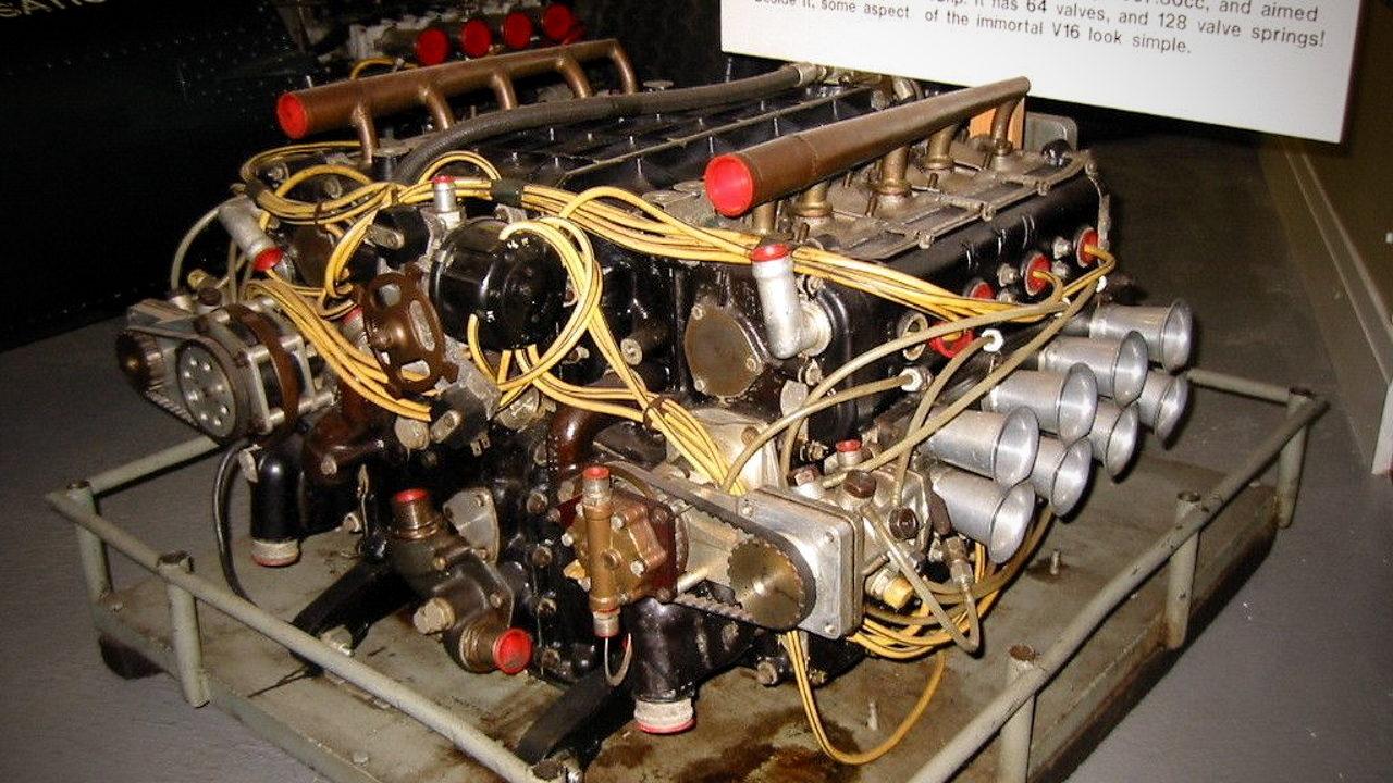 Двигатель H16