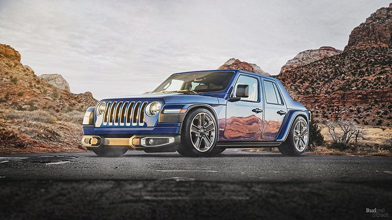 Внедорожник Jeep Wrangler Седан
