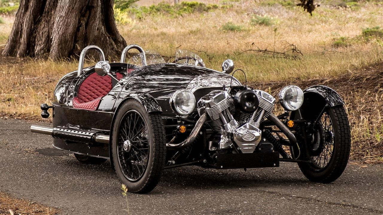 Автомобиль с двигателем V2
