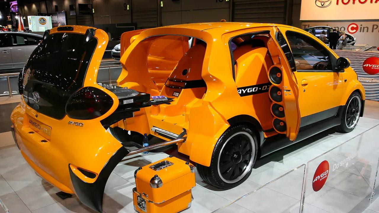 Автомобиль дискотека