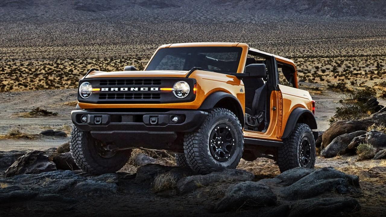 Шестое поколение легендарного внедорожника Ford Bronco представлено официально | АВТО INFO