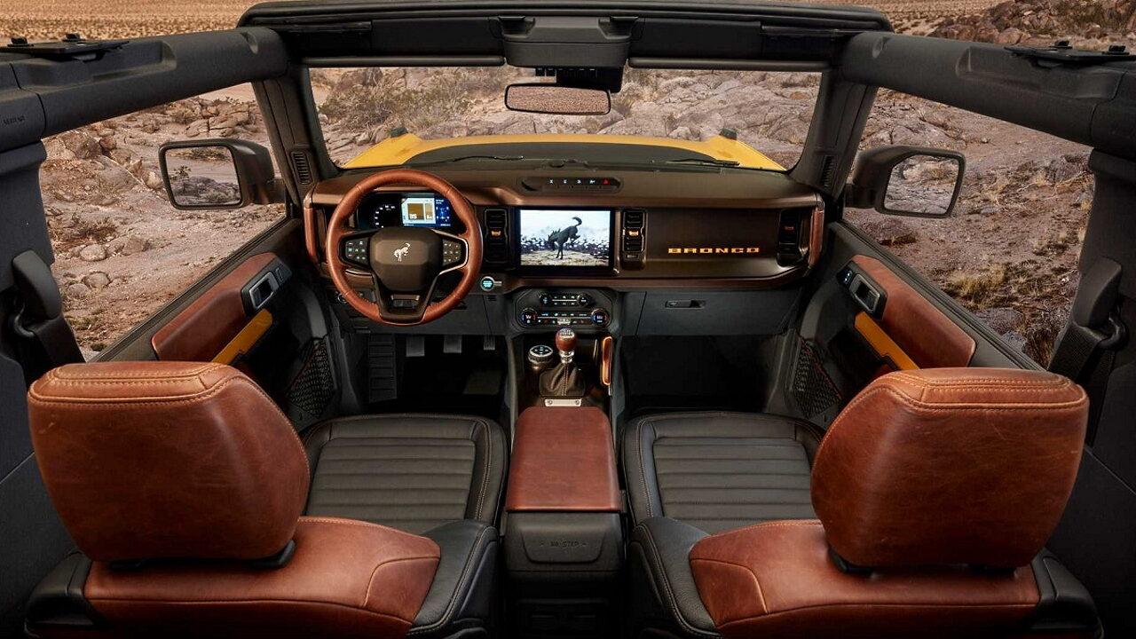 Шестое поколение легендарного внедорожника Ford Bronco представлено официально