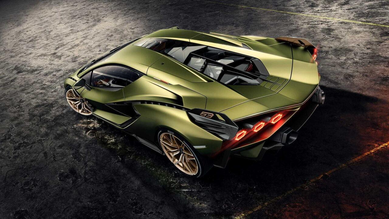 Lamborghini Sian Coupe